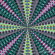 Fractalscope 25 Art Print