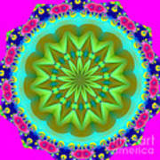 Fractalscope 28 Art Print