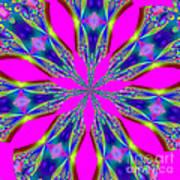 Fractalscope 29 Art Print