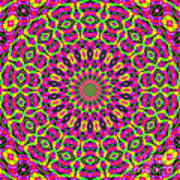 Fractalscope 7 Art Print