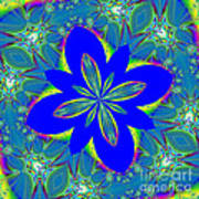 Fractalscope 9 Art Print