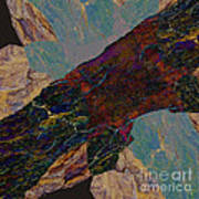 Fracture Section Il Art Print