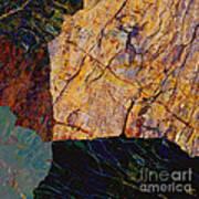 Fracture Section Ix Art Print