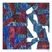 Fractured Overlay Iv Art Print