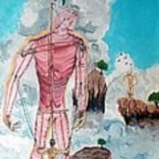Fragiles Colossus Art Print