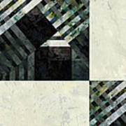 Fragmented Abstract Art Art Print