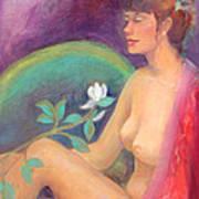 Fragrance Of A Dream Art Print by Gwen Carroll