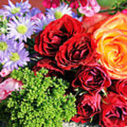 Fragrant Bouquet Art Print by Paulette Maffucci