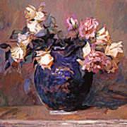 Fragrant Rose Petals Art Print