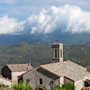 France, Corsica, La Alta Rocca, Quenza Art Print