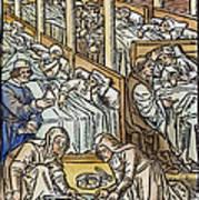 France: Hospital, C1500 Art Print