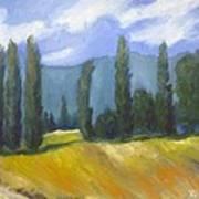 France Landscape Art Print