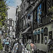 France Street Art Print