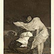 Francisco De Goya Spanish, 1746-1828. Mala Noche. A Bad Art Print