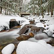 Franconia Notch State Park - White Mountains New Hampshire Usa - Flume Gorge Art Print by Erin Paul Donovan