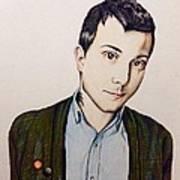 Frank Iero Art Print