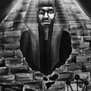 Frank Ocean Pyramids Inspired Art Print by Kenal Louis