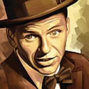 Frank Sinatra Artwork 2 Art Print