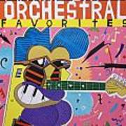 Frank Zappa Orchestral Favorites Art Print
