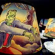 Franken Shade Art Print