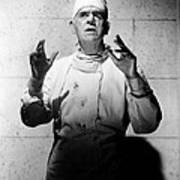 Frankenstein 1970, Boris Karloff, 1958 Art Print