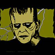 Frankenstein 31' Art Print
