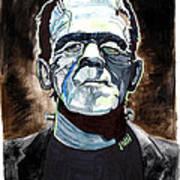 Frankenstein Boris Karloff Art Print