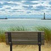 Frankfort Lighthouse Front Row Seats Available Art Print