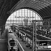 Frankfurt Bahnhof - Train Station Art Print