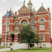 Franklin County Courthouse 2 Art Print