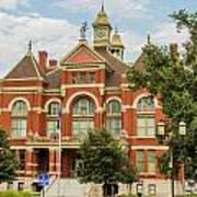 Franklin County Courthouse 4 Art Print