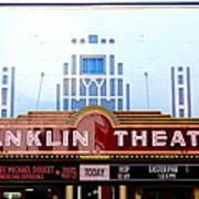 Franklin Theatre Art Print
