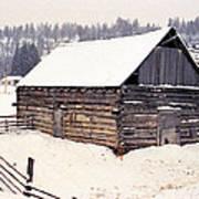 Fraser Valley Barn Art Print