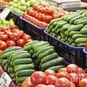 Frash Fruit And Vegetables Art Print