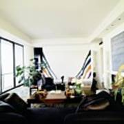 Fred Mueller's Living Room Art Print