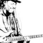 Freddy And His Guitar Art Print