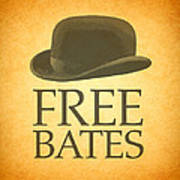 Free Bates Art Print