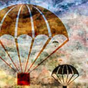 Free Falling Art Print by Angelina Vick