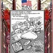 Free Trade Trap Art Print