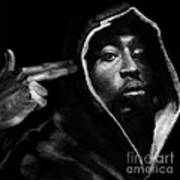 Free Will - 2 Pac Art Print