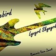 Freebird Lynyrd Skynyrd Ronnie Van Zant Art Print