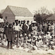 Freed Slaves, 1862 Art Print
