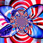 Freedom Abstract  Art Print