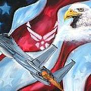 Freedom Eagles Art Print