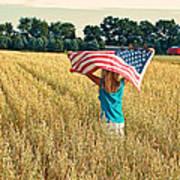 Freedom Field Art Print
