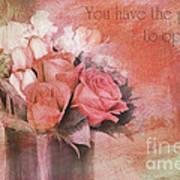 Freedom Flowers Art Print