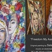 Freedom My Ass 130309 Art Print
