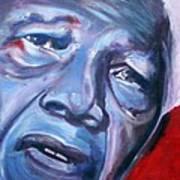 Freedom - Nelson Mandela Art Print