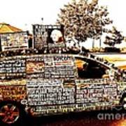 Freedom Of Speech On Wheels Print by Desiree Paquette