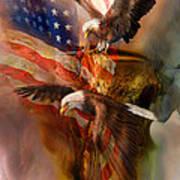 Freedom Ridge Art Print